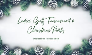 Ladies Golf Tournament and Christmas Party at Victoria Park