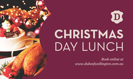 Christmas Day Lunch at The Duke