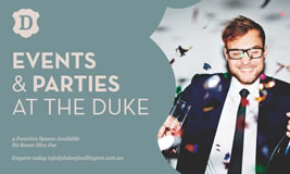 Christmas Functions at The Duke
